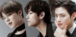 Jimin-V- Cha Eun Woo