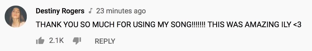 Destiny-Rogers-Comment