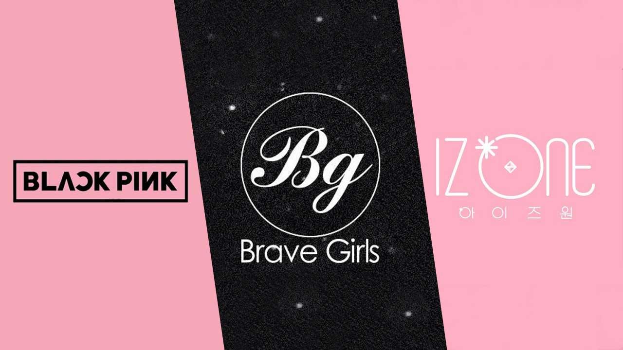 BLACKPINK-Brave-Girls-IZONE