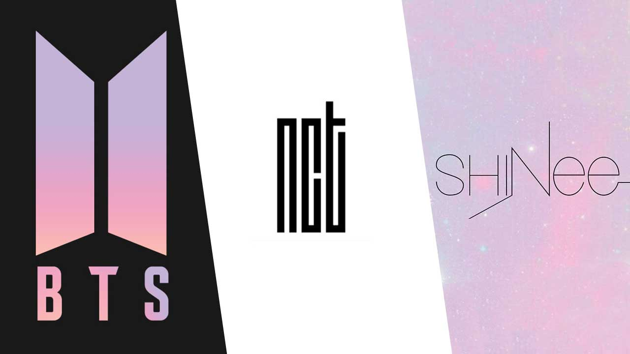 BTS-NCT-SHINee
