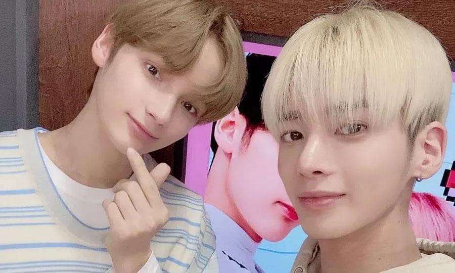 Huening Kai And Taehyun