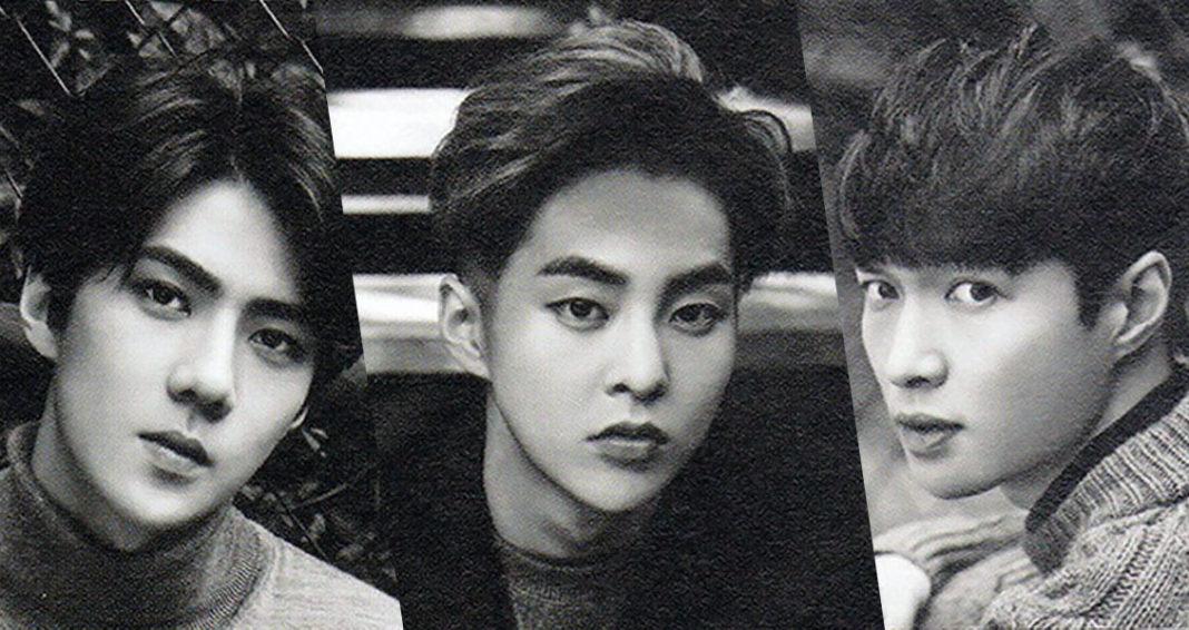Сехун и Сюмин из EXO