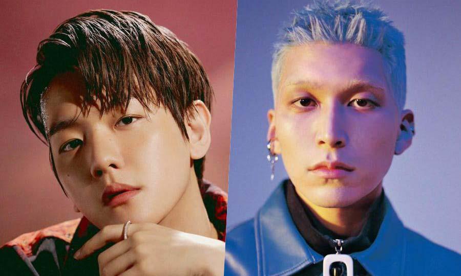 Бэкхён из EXO и Colde
