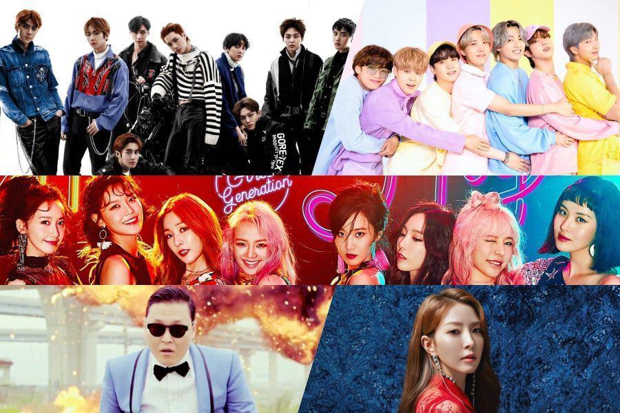 100 лучших к-поп песен