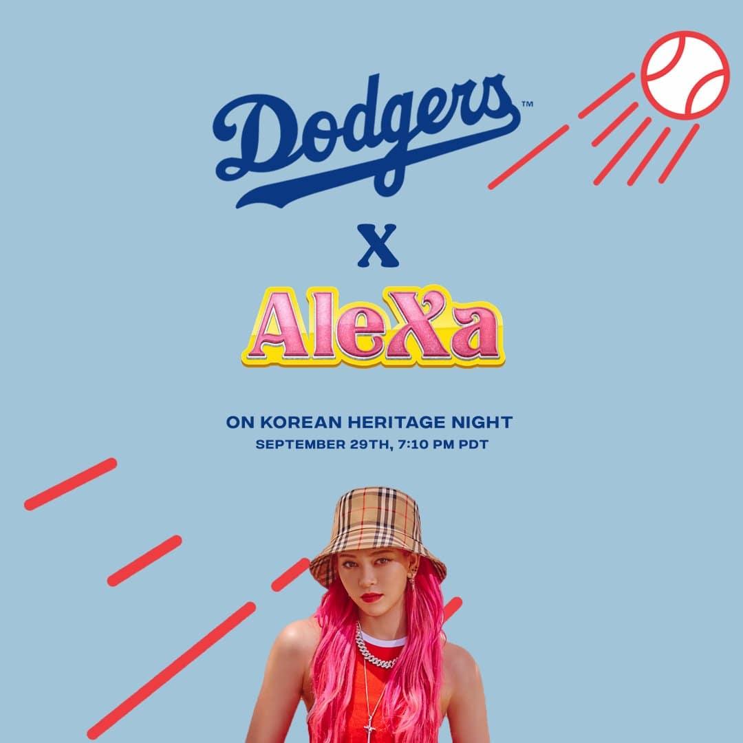 AleXa-Dodgers